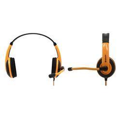 Herní sluchátka s mikrofonem Defender Warhead G-120, černo-oranžová - 5