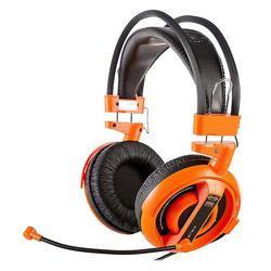 E-Blue, Cobra I, herní sluchátka s mikrofonem,oranžová - 5