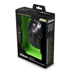 Herní optická myš APACHE MX403, černo-červená - 5