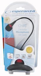 Esperanza CHAT stolní mikrofon, černý - 5