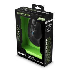 Herní optická myš FIGHTER MX205, černo-modrá - 5