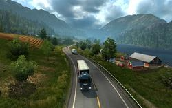 EURO TRUCK Simulator 2: Skandinávie (PC) - 5