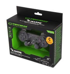 Bezdrátový Bluetooth Gamepad Esperanza Marine PS3,  černý - 5