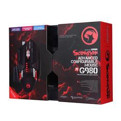 Herní myš Marvo G980 BK, černá, podsvícená - 5