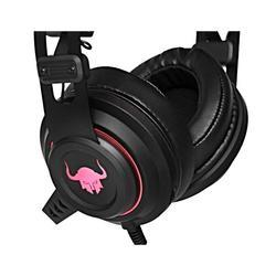 Herní sluchátka s mikrofonem RED FIGHTER H3 , černo-červená - 5