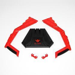 Red Fighter stojan na sluchátka červený - 5