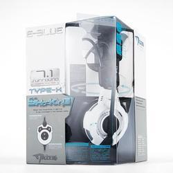 Herní sluchátka s mikrofonem E-Blue Mazer Type X 7.1 - 6