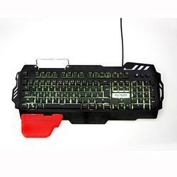 Herní klávesnice RED FIGHTER K2, černá, podsvícená - 6