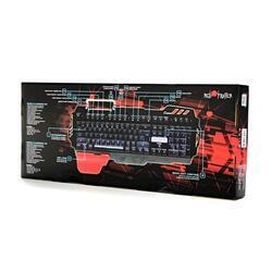 Herní klávesnice RED FIGHTER K2, černá, podsvícená - 7