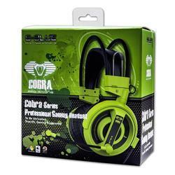E-Blue, Cobra I, herní sluchátka s mikrofonem, zelená - 7