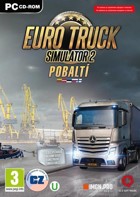 EURO TRUCK Simulator 2: Pobaltí (PC)