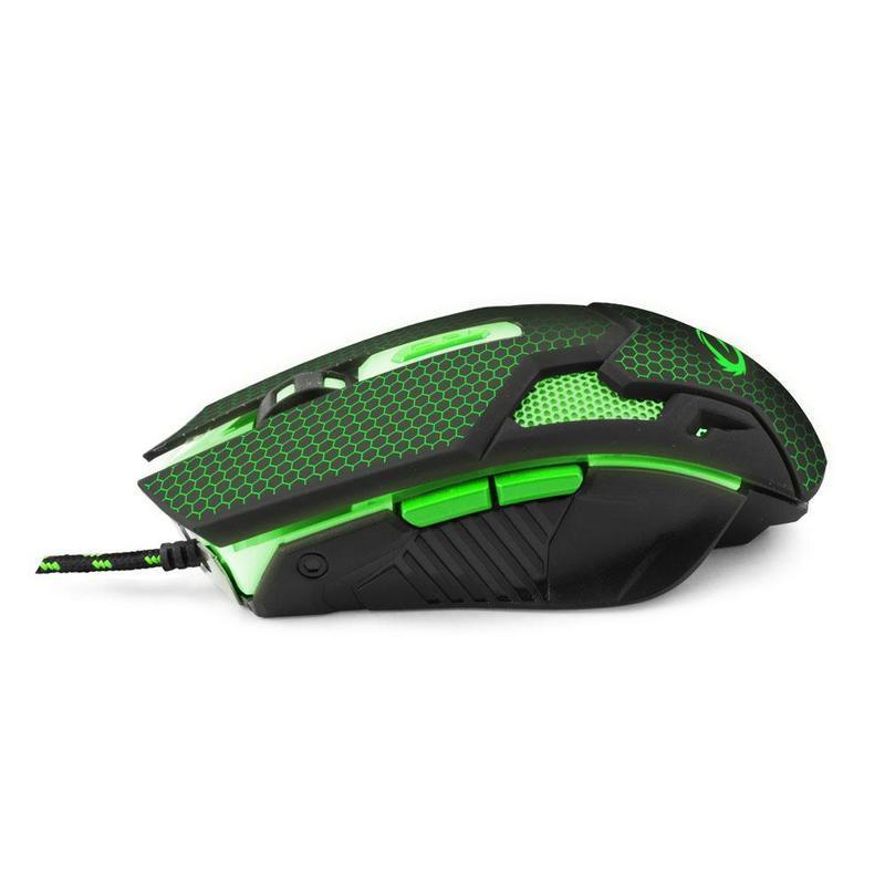 Herní optická myš COBRA MX207, zelená