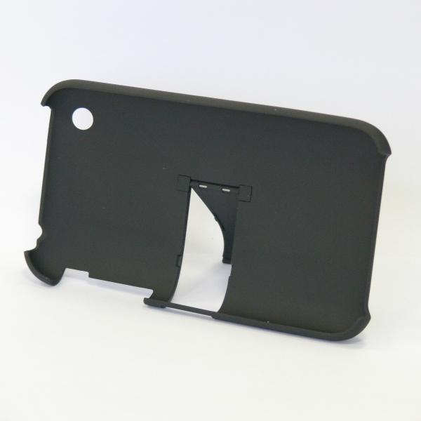 Kryt na iPhone 3G, černý, pogumovaný