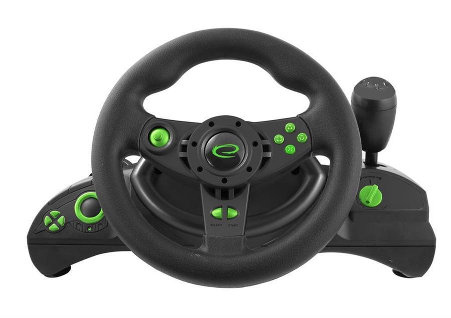 Esperanza EGW102 NITRO herní volant pro PC/PS3